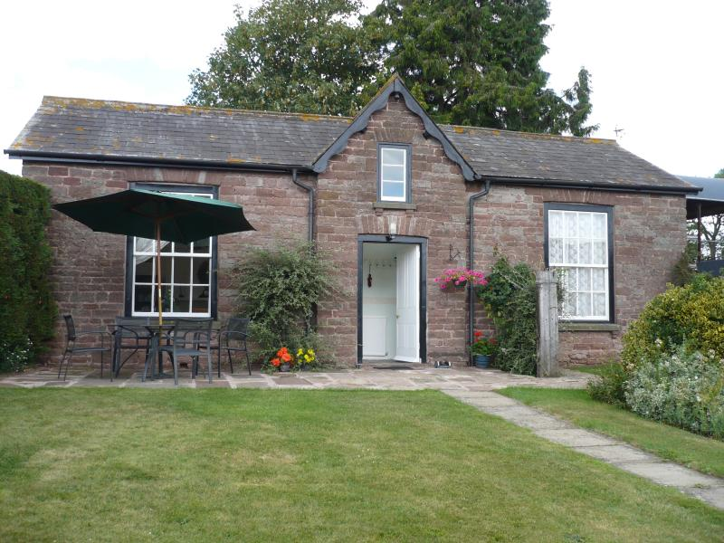 The outside of Garden Cottage at Benhall Farm