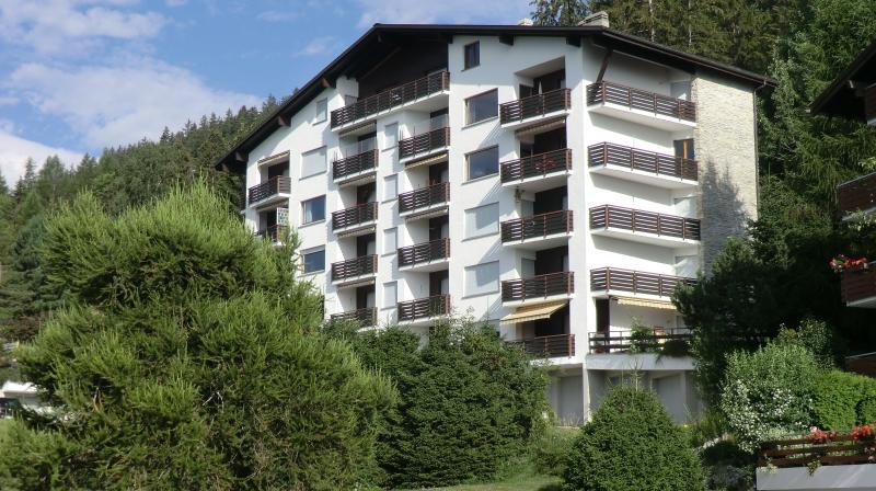 Chalet Lisiere Sud during summer