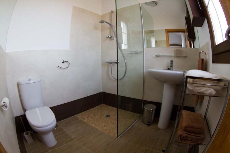 Master bedroom downstairs en suite