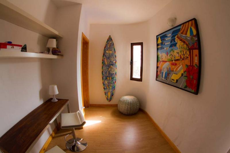Hallway to Ocean room