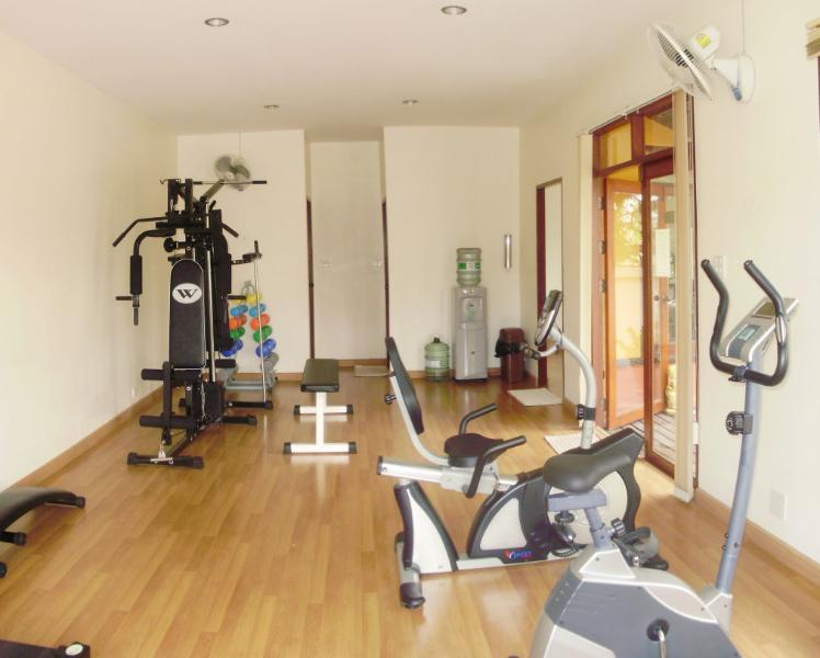 Fitness room for complmentary usage