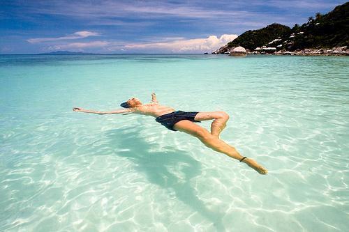 Koh Tao water best in Thailand