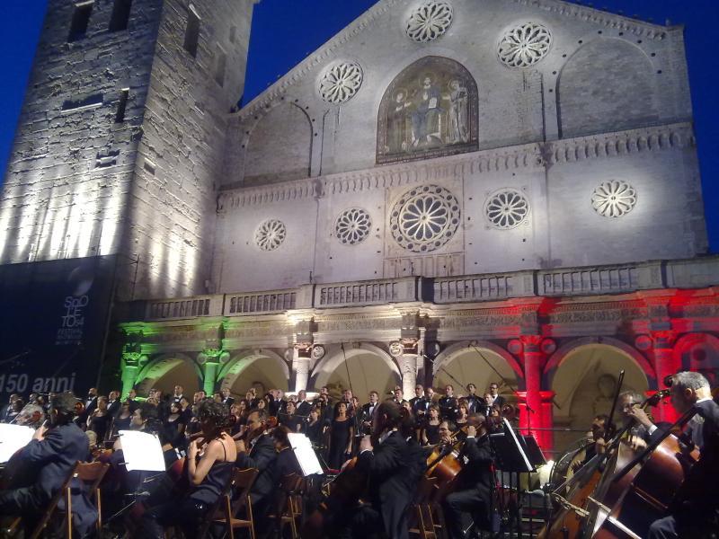 Concerto do Festival de Spoleto