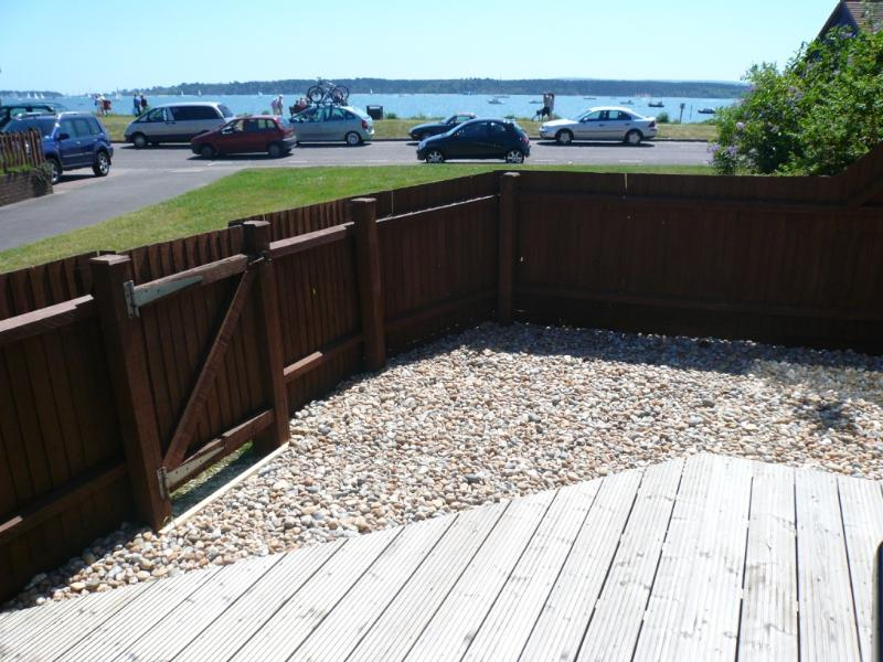 Outside patio and decking area