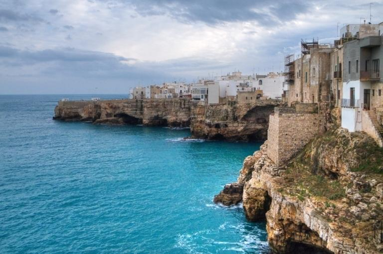 Polignano al Mare, local seaside town