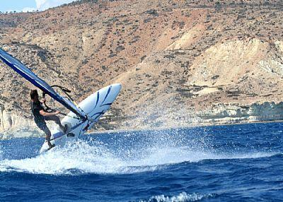 High View - try your hand at a choice of water sports at nearby Pissouri
