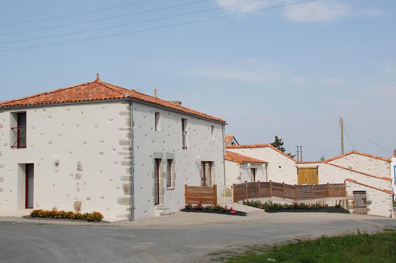 Le Bocage - esterna, la facciata