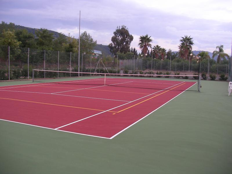 On site Tennis Courts, 2 side by side
