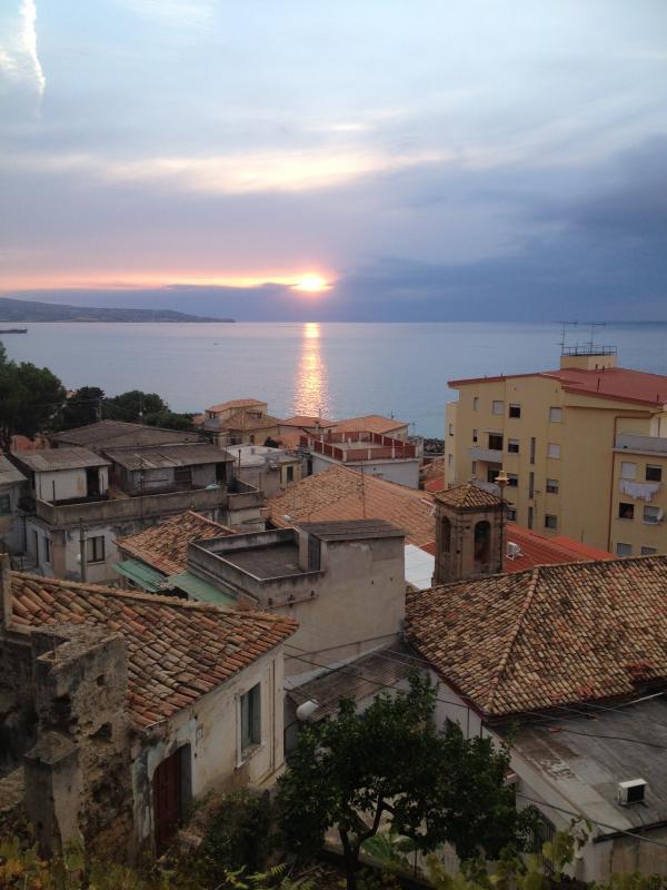 Pizzo Marina at sunset