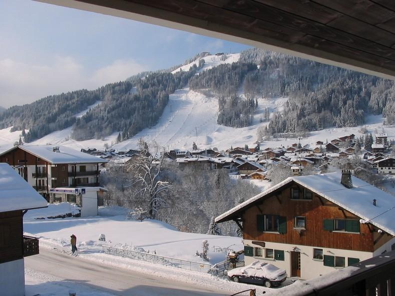 Vue d'hiver depuis les balcons