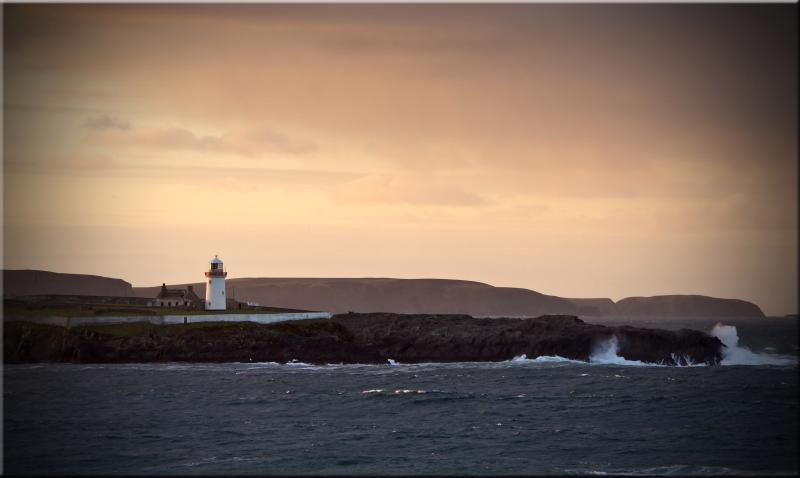 Ballyglass Lighthouse. 20 minute drive from Claggan Island.