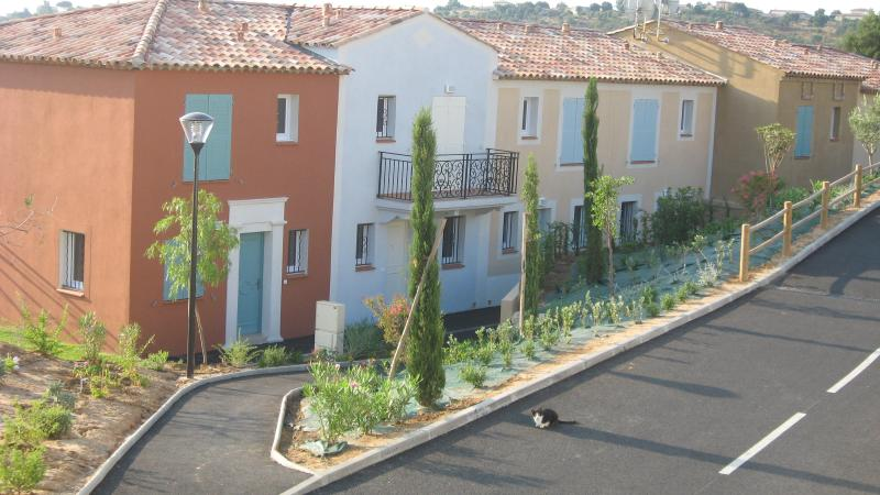 Provencal style villas in gated community