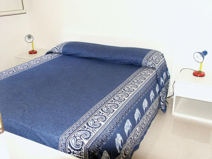 Bed room with double bed