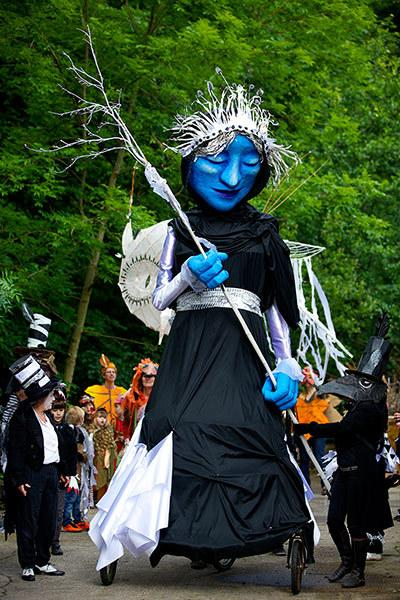 Handmade Parade - A fantastic community event stilt walkers, bands, giant figures and much more