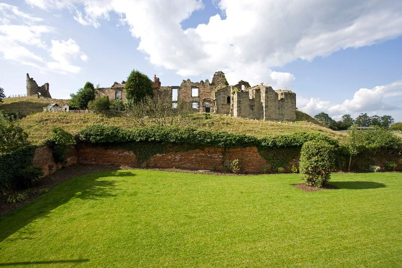 View of Castle from Garden