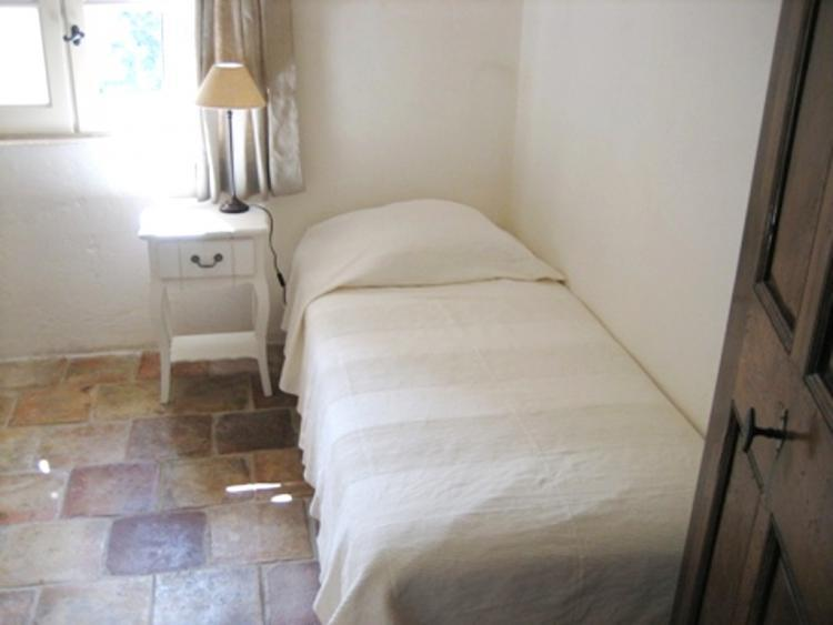 Another of the single rooms