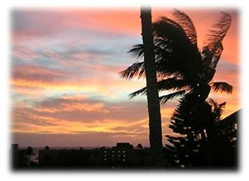 Awesome Maui Sunsets from the Lanai