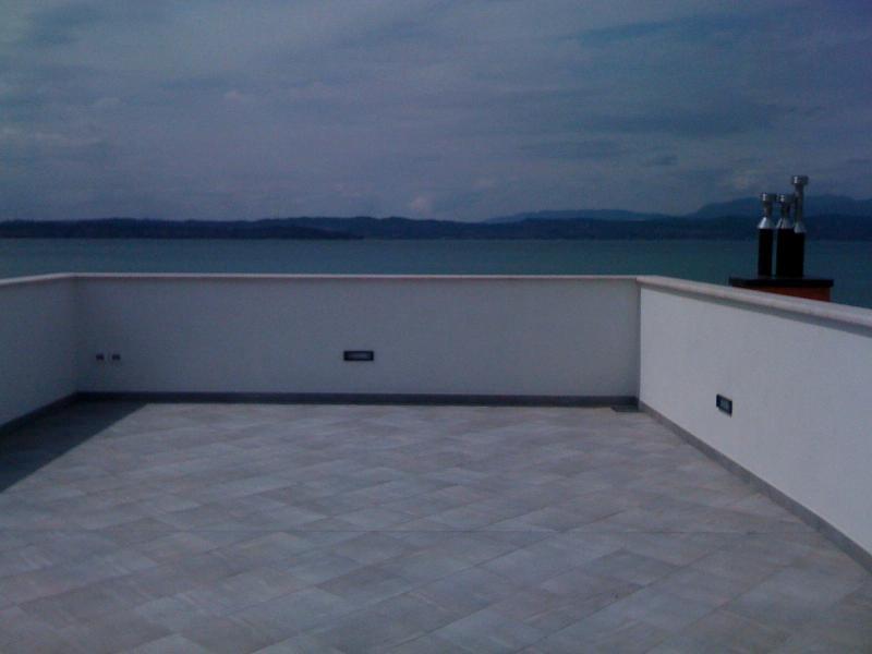 gemeenschappelijk terras op het dak