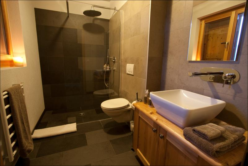 Ensuite bathroom in ground floor bedrooms
