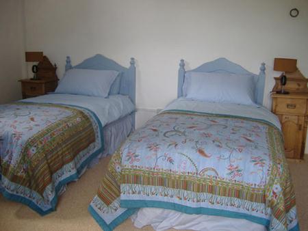 Comfy twin beds