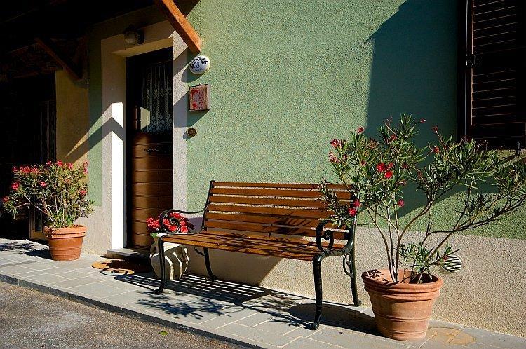 The doorway of GREEN HOUSE