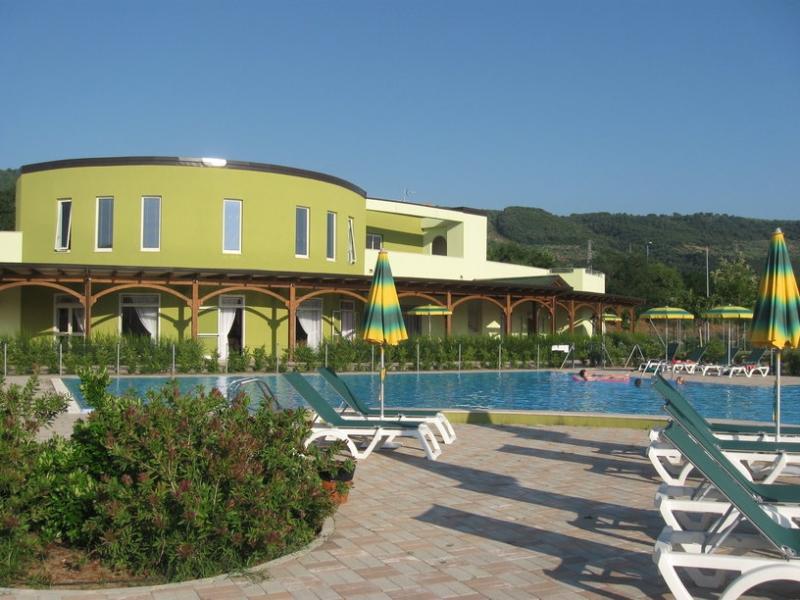 Main swimming pool, bar and restaurant area
