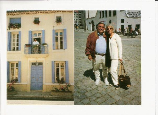 Front view of Les Roses and your host Judy and Frank Pagano
