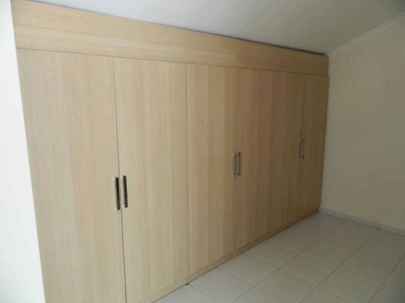 Fitted landing wardrobes for extra space for guests.