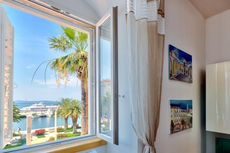 Sunshine and sea view from living area