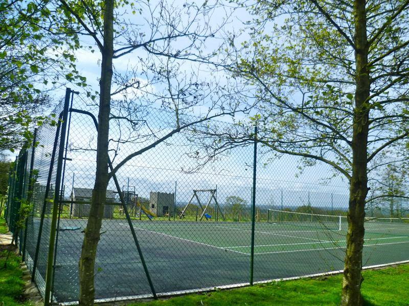 Guests are welcome to play on our well maintained all weather doubles tennis court.