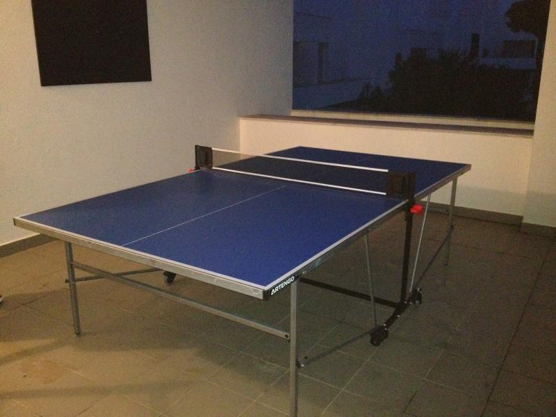 Table Tennis and Dart Board on first floor terrace