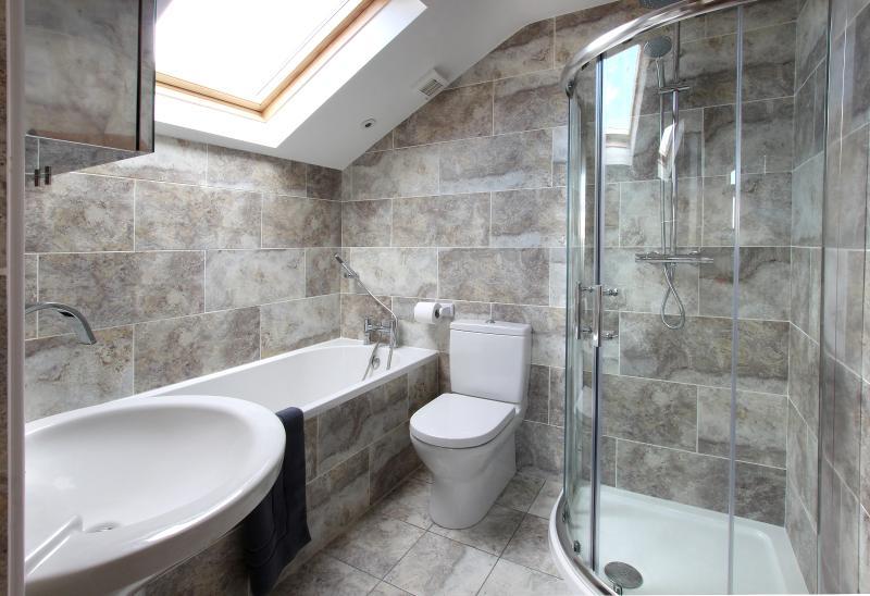 New, attractive en suite Villeroy & Boch bathroom with separate shower