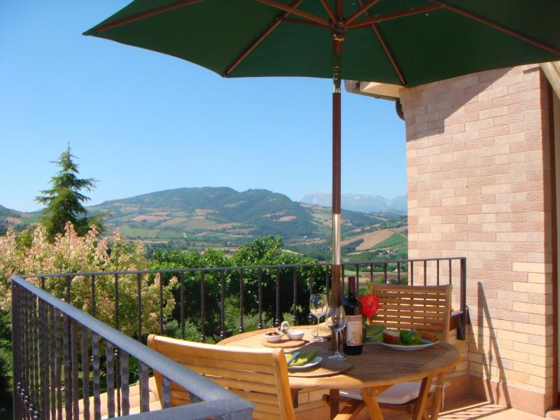RONDINE balcony with fabulous views