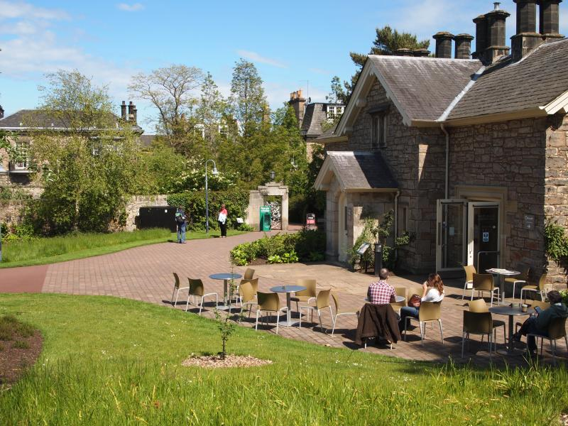 East Gate Cafe Botanic Gardens 5 minutes walk from apartment