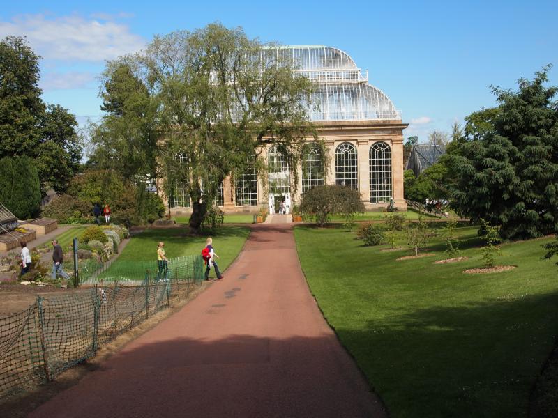 Hot House Entrance , Botanic Gardens