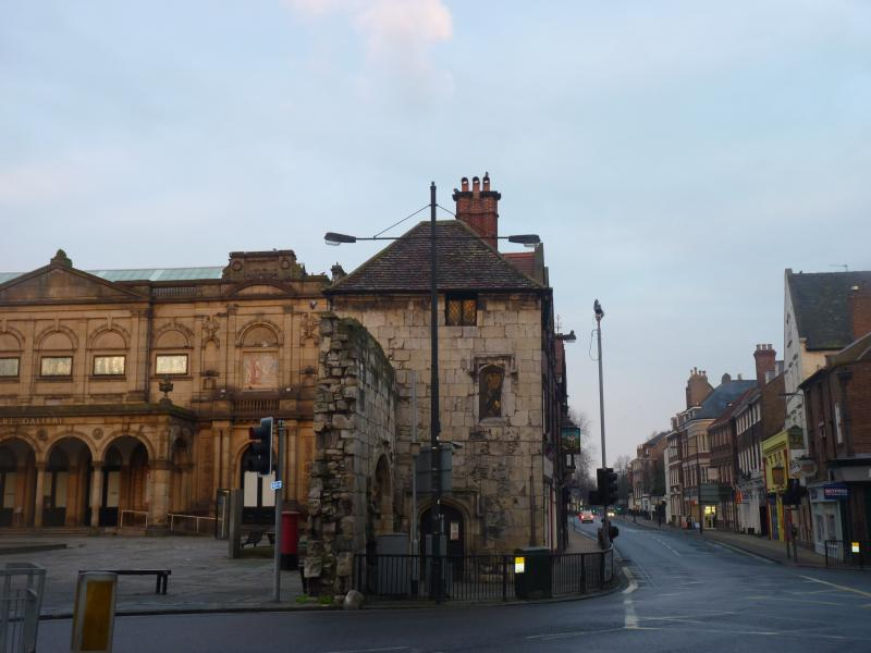 York Art Gallery with Bootham on the right