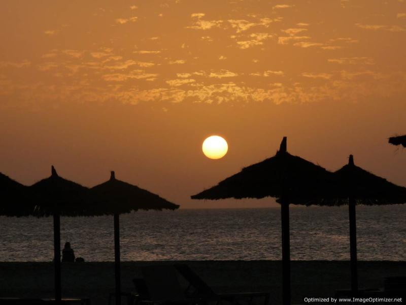 Beautiful beach sunsets