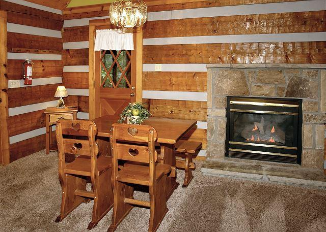 Parkside Party #1676- Fireplace & Living Room Table