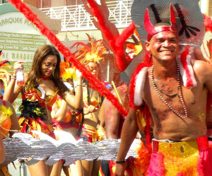 Annual Botobano Parade brings out the carnival aspect of Grand Cayman