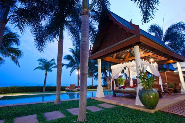 Acacia de Villa à beira-mar com 4 quartos e ginásio privado