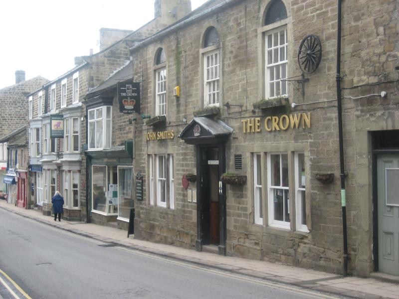 The Crown Pub, High Street, Pateley Bridge