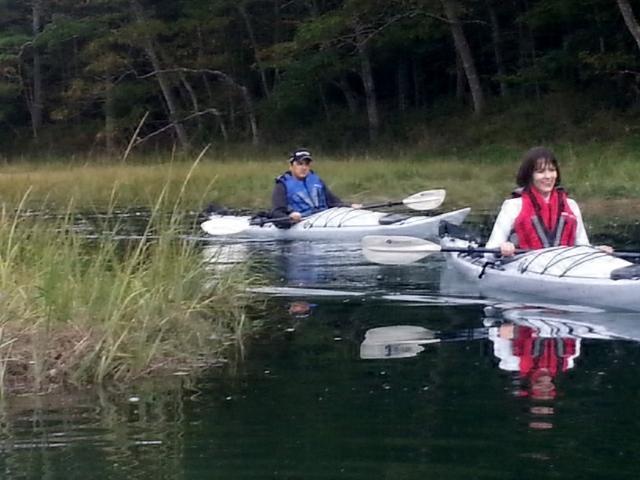 PADDLEing het Rachel Carson Wild leven estuarium