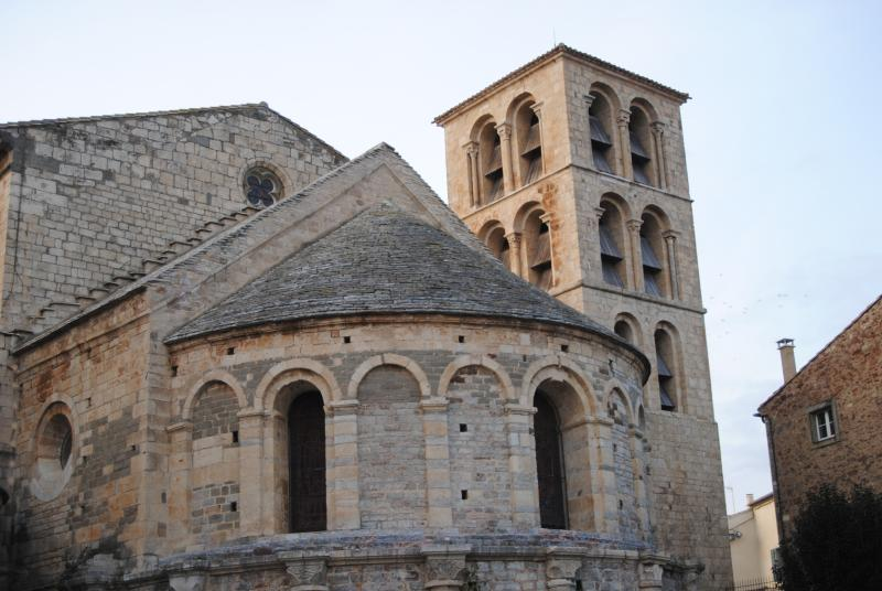 Caunes-Minervois Abbey (Founded around 8th Century)