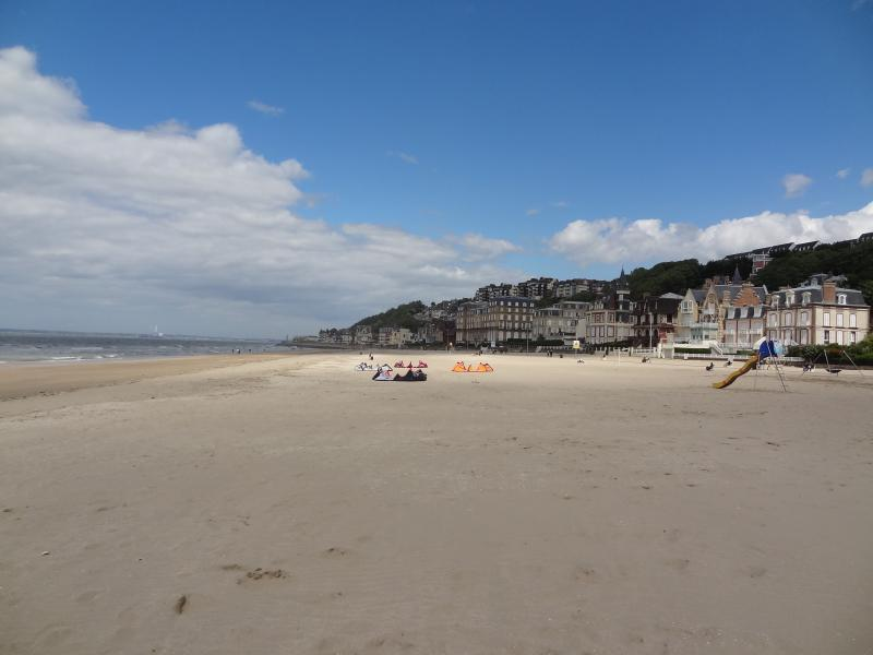 Trouville beach 5 mins drive from the chalet