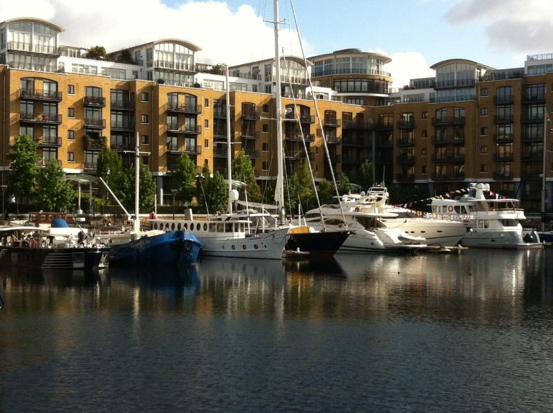 St Katherine Docks is a hidden gem and the perfect spot for breakfast, lunch or dinner