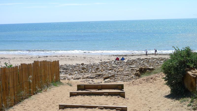 Ein lokaler Strand
