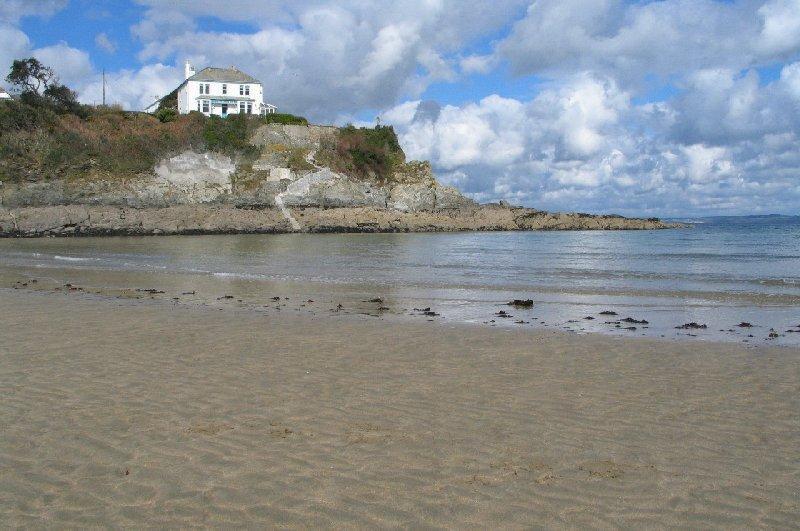 Portmellon Cove, a short walk away