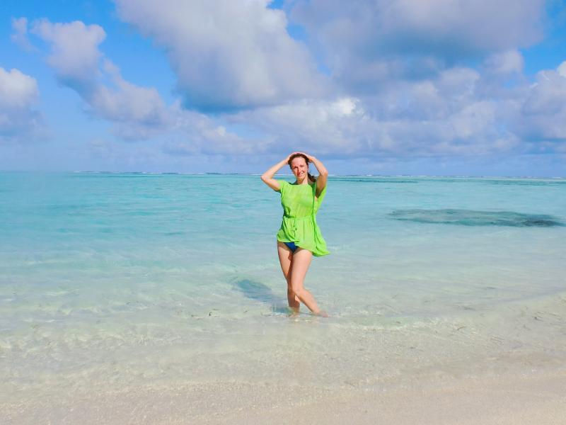 Plus view Guest at Thulhaadhoo beach