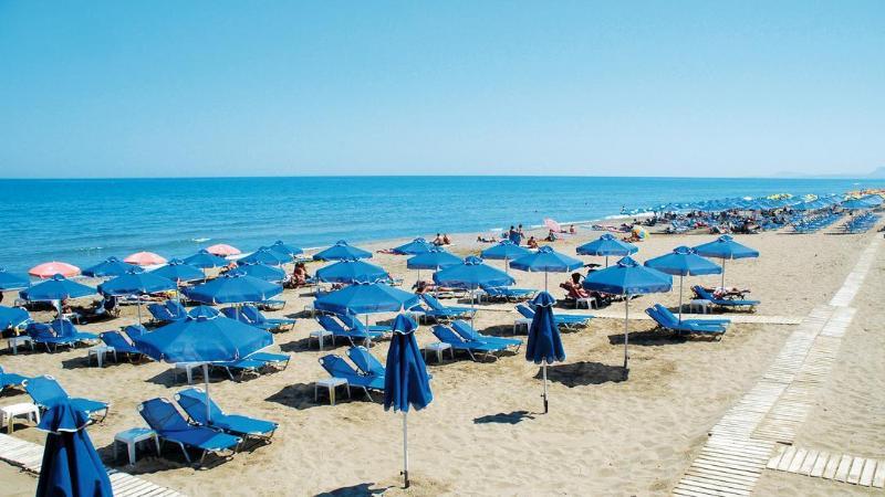 Rethymno Beach at 6.5 Kilometres