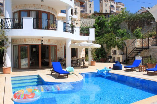Villa Fosa, with its lovely private pool, offers a wonderful escape in Kalkan